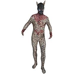 Original FUNSUIT - Disfraz de segunda piel (pegado al cuerpo) Lobo Carnaval Halloween - Talla S / M / L / XL / XXL [XL] - Varios diseños
