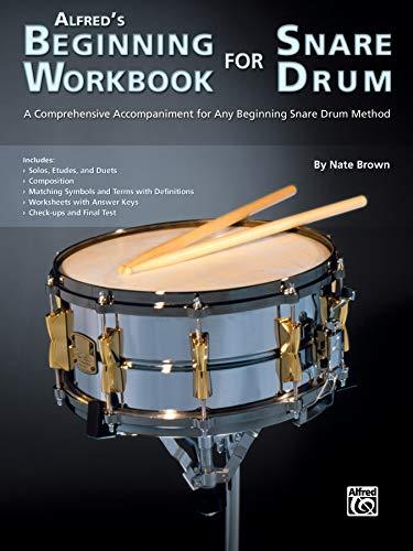 Alfred\'s Beginning Workbook for Snare Drum  |  Snare Drum  |  Buch