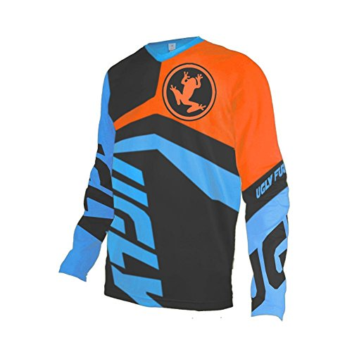 Uglyfrog Winter Thermal Vlies 2018 Jersey Motocross Mountain Bike Downhill Shirt Herren Langarm (Winter Mountain-bike)