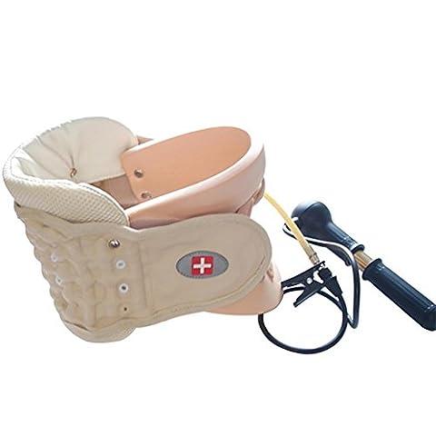 G&M Cervical Zugvorrichtung Cervical Collar Neck Brace bietet Neck Support Relief von Nackenschmerzen und Assist Erholung von Hals Verletzungen oder Operationen One