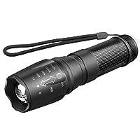 مصباح LED LED عسكري لمصابيح إضاءة LED من 2000 Lumens Genuine Tactical Zoom