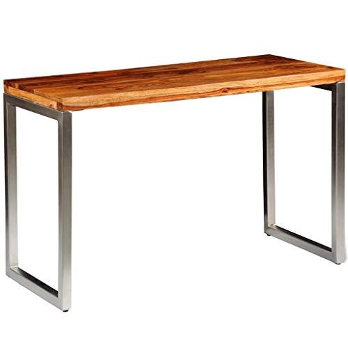 vidaXL Esstisch Sheesham Holz Palisander Tisch Arbeitstisch Schreibtisch