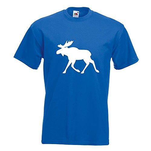 KIWISTAR - Elch / Schweden T-Shirt in 15 verschiedenen Farben - Herren Funshirt bedruckt Design Sprüche Spruch Motive Oberteil Baumwolle Print Größe S M L XL XXL