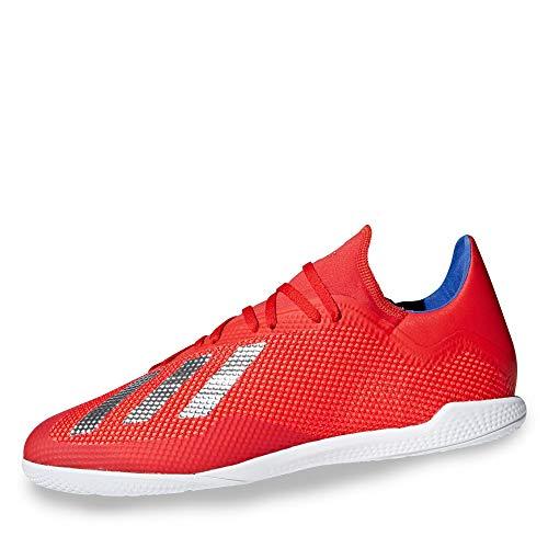 adidas Herren X 18.3 In Fußballschuhe, Mehrfarbig (Rojact/Plamet/Azufue 000), 45 1/3 EU - Adidas-fußball-schuhe-indoor