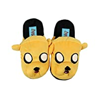 Adventure Time Jake Yellow 100% Polyester Kids Slippers