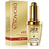 Bioaqua Whiten Moisturizing Day Face Cream with 24K Gold Essence Serum 30 ml.