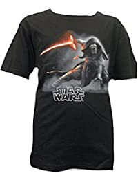 Official Disney Boys Star Wars Episode 7 T-Shirt Sizes 3 4 5 6 7 8 9 10 11 Years Kylo Ren The Force Awakens