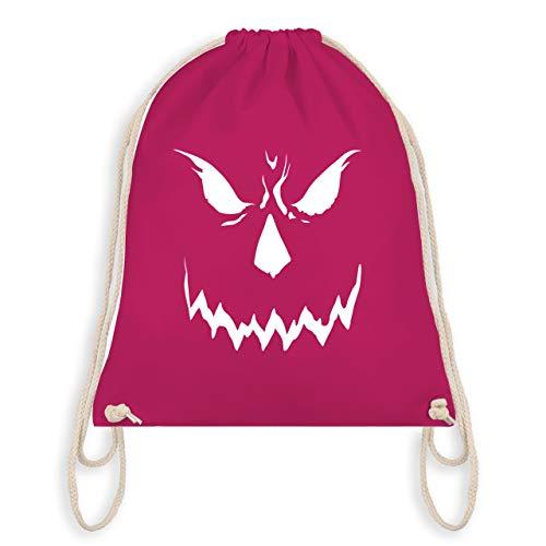 Halloween - Scary Smile Halloween Kostüm - Unisize - Fuchsia - WM110 - Turnbeutel & Gym Bag