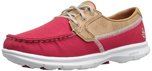 Skechers Go Step Riptide, Chaussures Bateau Femme red