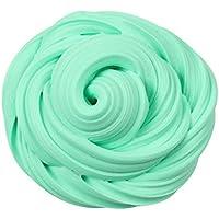 Pawaca 30g Fluffy Slime, Juguete de Lodo Perfumado No Pegajoso, Juguete Antiestrías para Niñas y Niños (Mint)