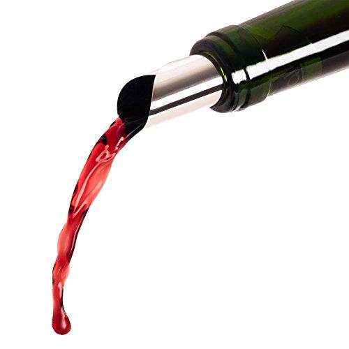 confronta il prezzo 6 Salvagoccia Vino | Tappo Versatore Per Bottiglie | Beccuccio Per Bottiglia | Protegge Dalle Macchie | Antigoccia | Proteggi Tovaglie | Disco Lavabile e Riutilizzabile | By Blumtal miglior prezzo