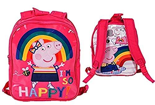 Peppa Pig Mädchen Schulrucksack Pink Peppa Pig Trainer