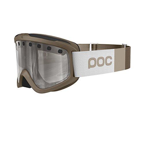 POC Skibrille Iris Stripes, 40042, Calcite Beige,  Regular (Herstellergröße:M )