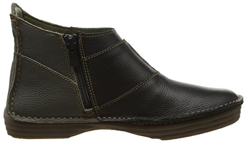 El Naturalista Nf85 Soft Grain Black-Grafito/Rice Field, Bottes Souples Femme Multicolore (Black-Grafito Nrc)