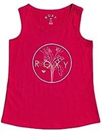 Roxy There Is Life - Licra para Chicas 4-16 Camiseta, Niñas, Cerise, 10/M