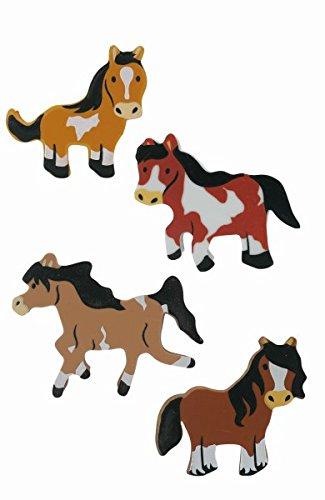 Party Großhandel Radiergummi-Set 8 Radiergummis Pferde