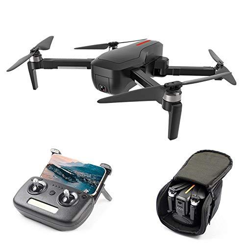Linbing123 Faltbare FPV WiFi-Drohne, Gestensteuerung WiFi Quadcopter mit 3D-Flips, GPS Return Home, 5G-Bildübertragung 4K HD-Luftaufnahmen - Mobile-app Herunterladen