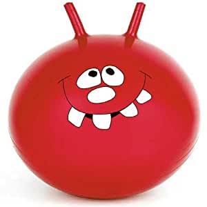 """24"""" Inch Large Jump & Bounce Space Hopper Retro Ball Adult/Kid Outdoor Toy New - RED"""