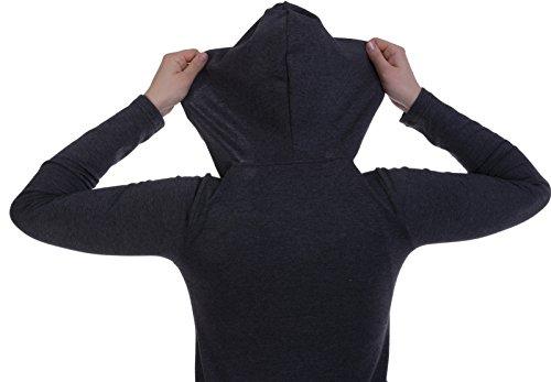 jandaz Schwangerschafts-Jogginghose, Baumwolle, Trainingshose und Hoodie, zusammen oder separat erhältlich Mehrfarbig - Hoodie -Grey