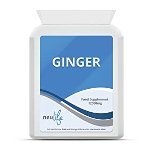 Ginger 12000mg - 120 Tablets from Neulife Health & Fitness Supplements