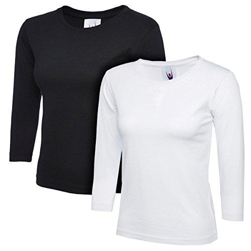Medium Charcoal Uneek 300g Plain Classic Crewneck Sweatshirt