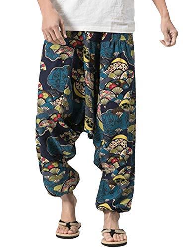 566532cf4da6 Besbomig pantaloni alla turca harem uomo baggy casual hippy pantaloni aladi  Scheda Completa