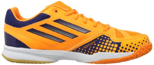 adidas Performance Feather Team 2 D66975 Herren Sportschuhe - Fitness Orange (SOLAR ZEST / RUNNING WHITE / NIGHT BLUE F13)