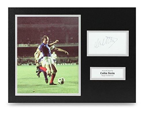 Colin-Stein-Signed-16×12-Photo-Autograph-Rangers-Memorabilia-Display-COA