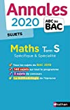 Annales ABC du BAC 2020 Maths Term S - non corrigé...