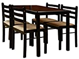 Nitraa Augusta Four Seater Dining Table (Brown)