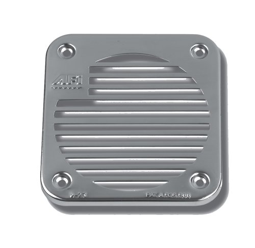 AFI Marine 11060 Single Stainless Steel Grill For 11050 Marine Concealed Compact Electric Below Deck Horn (Afi-marine-horn)