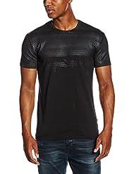 Antony Morato Girocollo Stampa Handmade Stripes, T-Shirt Homme