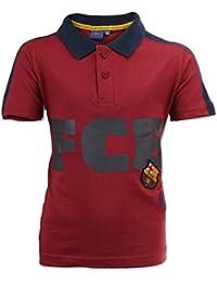 FC Barcelone - Tee shirt enfant FC Barcelone rouge Taille de 6 à 14 ans - 6 ans,8 ans,10 ans,12 ans,14 ans