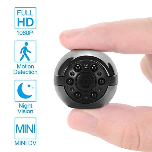 Verdelife Mini-DVR Kamera HD Camcorder 1080P Nachtsicht-Videogerät-versteckte Spy Camera DVR Micro Cam-Infrarot-Nachtsicht Bewegungserkennung Hidden Camera Camcorder Dvr