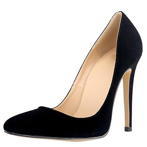 Ochenta - Sandales Compensées Pour Femmes Black (noir)