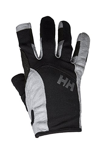Helly Hansen Herren Sailing Long Segelhandschuhe, 990 Black, M