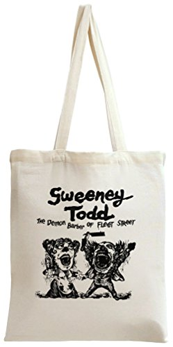 Toby Tee (Sweeney Todd movie poster Tote Bag)
