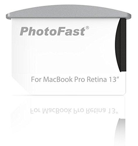 PhotoFast Memory Expandable Combo Kit - Plug&Play Speichererweiterung für das Apple MacBook Pro Retina 13 Zoll bis zu 256GB mit MicroSD/microSDHC/microSDXC Ultra Memory Kit