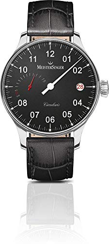 MeisterSinger CIRCULARIS POWER RESERVE CCP302 Elegante orologio da uomo Design senza tempo