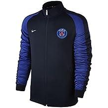 Nike PSG Y NSW N98 TRK JKT AUT - Chaqueta Paris Saint Germain para hombre, color azul, talla XS