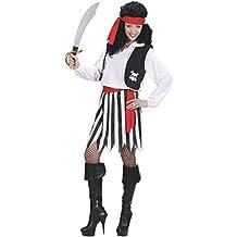 Widman - Disfraz de pirata para mujer, talla M (S/02762)