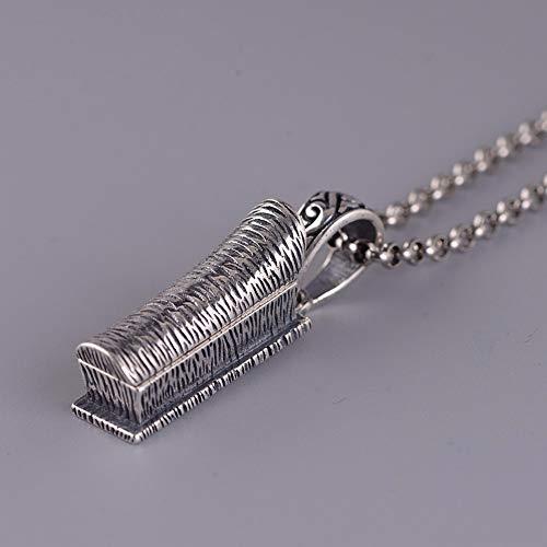 25 In Silber Halskette Frauen Ethnischen Stil Herren Werbemittel, Chinesische Zeichen Anhänger Fashion Kreative Geschenk Persönlichkeit Trend ()