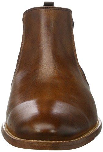 Daniel Hechter 812229201100, Bottes Chelsea homme Marron (Cognac)