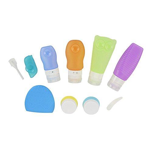 iegeek-silicone-kit-voyage-10-pieces-multifonction-trousses-de-toilette-kit-de-soins-de-nettoyage-se