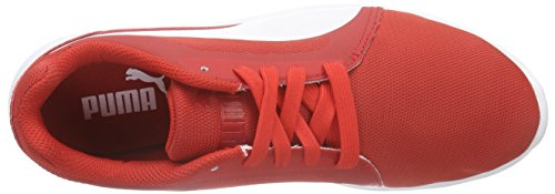 Puma St Trainer Evo, Sneakers Basses mixte adulte Rouge (high risk red-white 04)