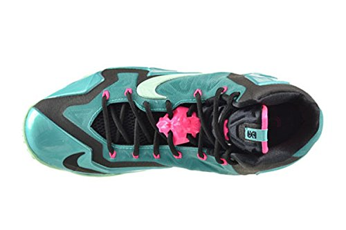 LEBRON 11 SOUTH BEACH - 616175-330 - US Size sport turq, medium mint-black