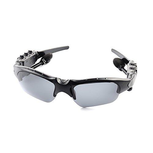 Docooler Smart Wireless Sports Sonnenbrille Stereo drehbare Brillen Kopfhörer BT 4.1 Hören Sie Musik