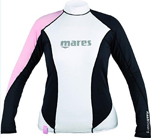 Mares Damen Tauchanzug Rash Guard Long Sleeve Loose Fit She Dives Pink