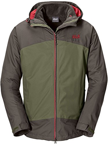 Jack Wolfskin FROST WAVE JACKET MEN burnt olive