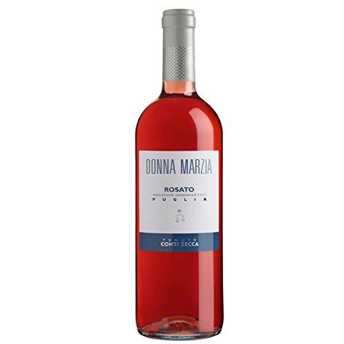 Donna marzia rosato cl75 conti zecca vino rosato (
